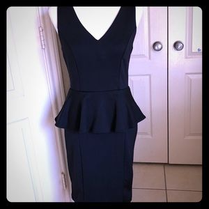 Dresses & Skirts - Peplum black Party Dress